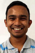 Gaurav Mukherjee, one of the UWIN graduate fellows in neuroengineering