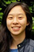 Joyce Huang, one of the UWIN undergraduate fellows in neuroengineering