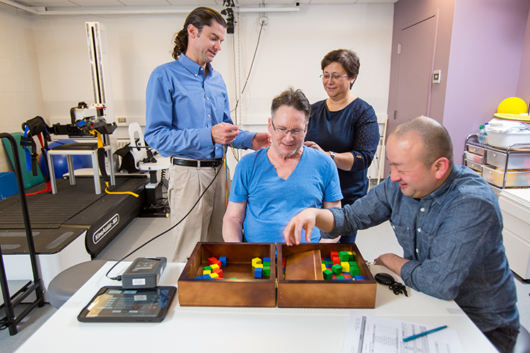 Successful spinal cord rehabilitation trial by UWIN