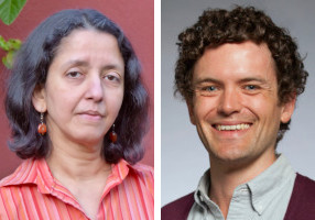 October 2019 UWIN Seminar speakers Anitha Pasupathy and Sam Burden